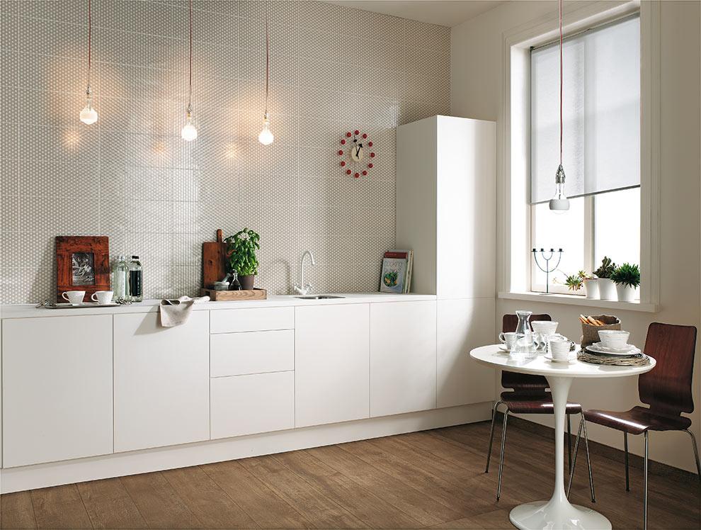 Pavimenti Per Soggiorno E Cucina : Pavimenti per cucina bianca. interesting cucina bianca dal design in
